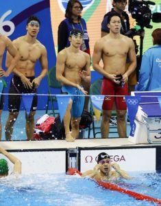 競泳男子400mメドレーリレー選手