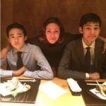 RIKACOと渡部篤郎の息子たち