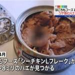 はごろもフーズ14年にハエ混入!ゴキ入ツナ缶と同じ静岡市の工場はどこ?