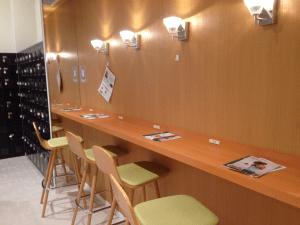 カルド上野店の待機場場所