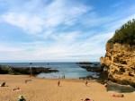 Schwimmen in Biarritz