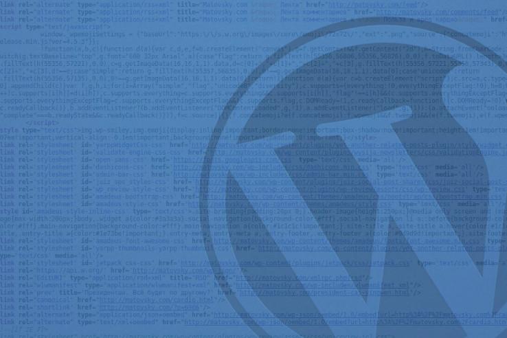 Плюшки для Wordpress