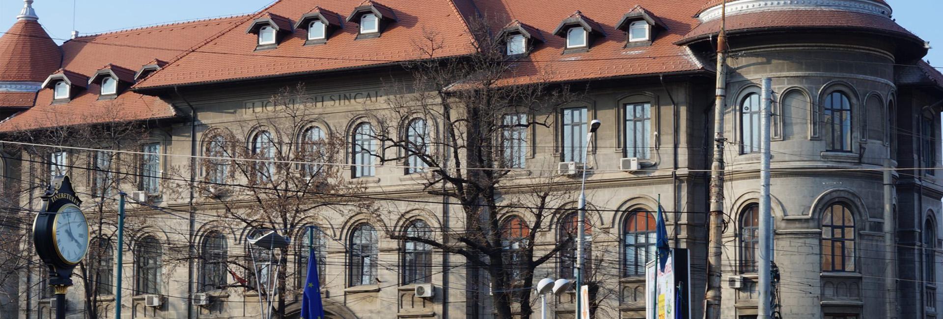Colegiul National Gheorghe Sincai slider Matricea Romaneasca