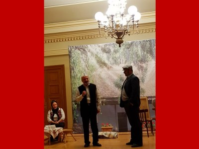 Mărturisitorii piesă de teatru, parte culturală din Congresul Internațional de Teologie slider