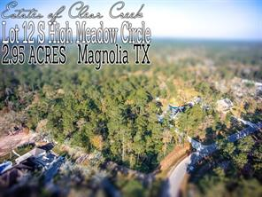 Property for sale at Lot 12 S High Meadow Circle, Magnolia,  Texas 77355