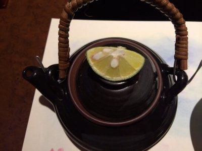 松茸の土瓶蒸しの外観