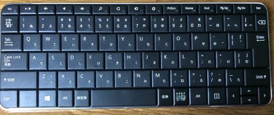 マイクロソフト ワイヤレス Bluetooth キーボード Wedge Mobile Keyboard