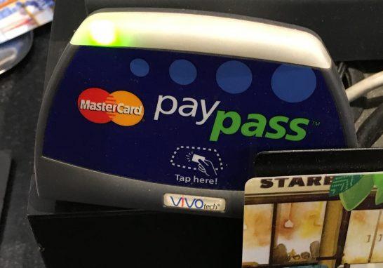 MasterCardコンタクトレス(旧PayPass)