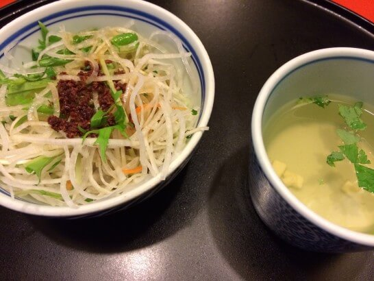洋麺屋五右衛門のサラダ