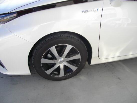 トヨタのミライのタイヤ
