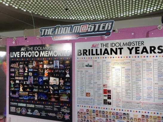 アイドルマスターの展示物