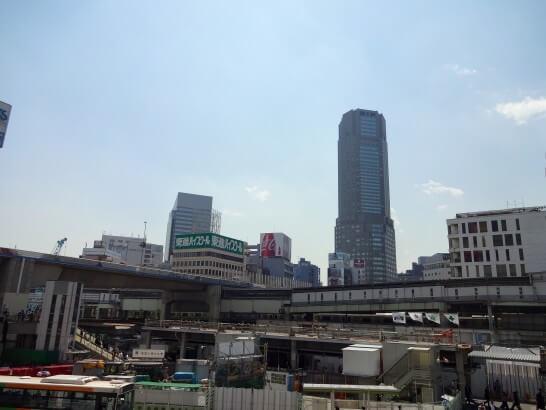GMOクリック証券のオフィスがある渋谷駅周辺