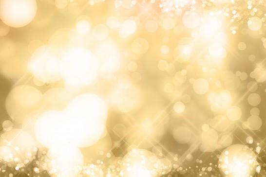 ゴールドと泡のイメージ