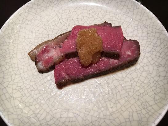 ヒルトン東京ベイの夕食 (1)