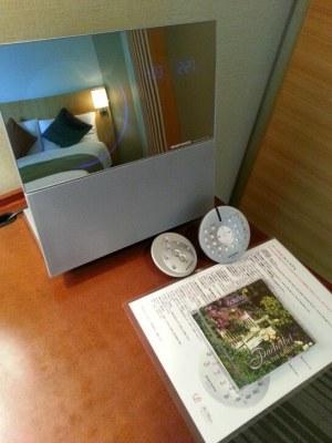 ザ・プリンス 箱根芦ノ湖のCDとデッキ
