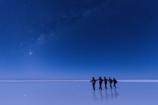 海外のリゾート(ウユニ塩湖)