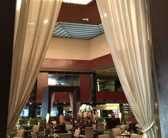 ANAインターコンチネンタルホテル東京のラウンジ