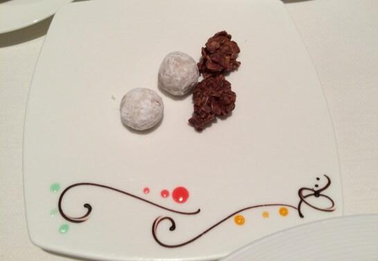 レ ロジェ エギュスキロールの茶菓子
