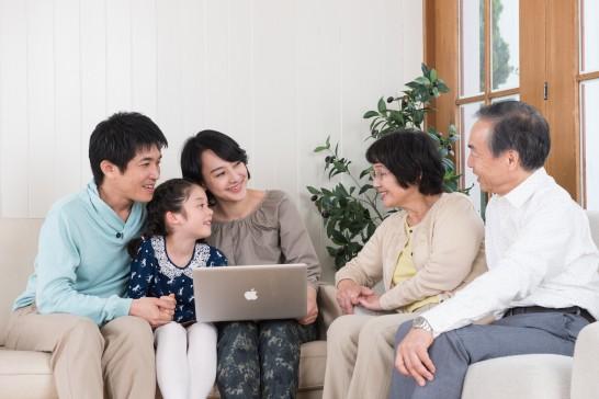 3世代の家族