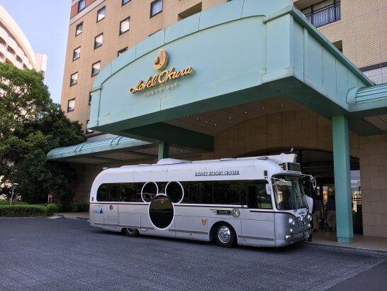ホテルオークラ東京ベイの入り口