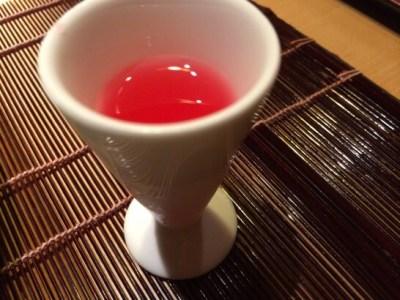 界伊東の食前酒