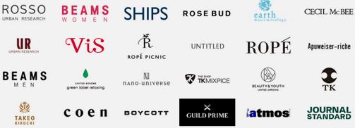d fashionの取り扱いブランド