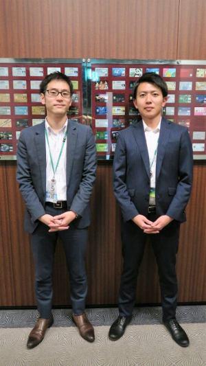 三井住友カードの田村さんと山口さん (2)