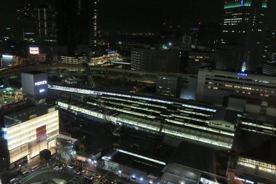 横浜ベイシェラトン ホテル&タワーズの部屋からの夜景