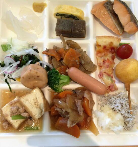 休暇村奥武蔵の朝食