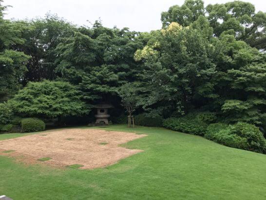 駐日フランス大使公邸の庭