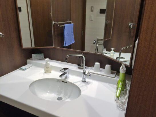 休暇村奥武蔵の洗面所
