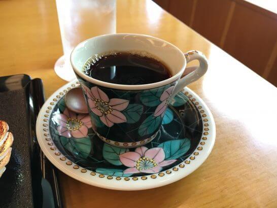 日本料理「はなの」の「なでしこ」のコーヒー
