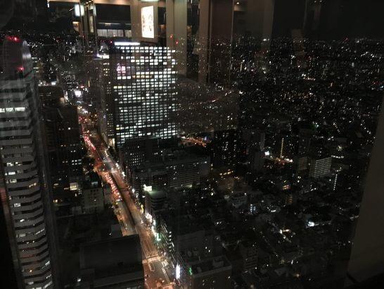 新宿野村ビルの夜景