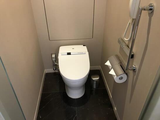 セントレジスホテル大阪のトイレ