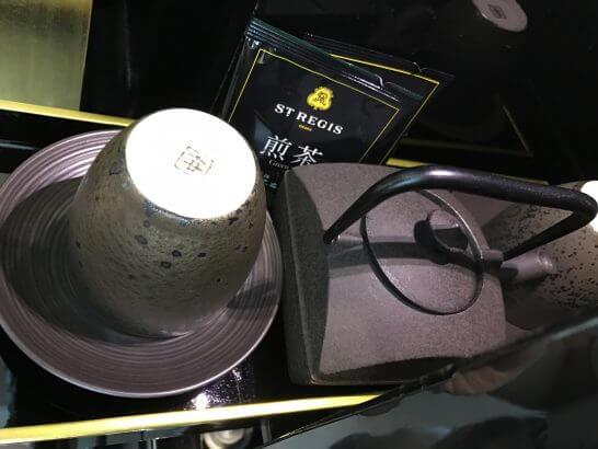 セントレジス大阪の煎茶