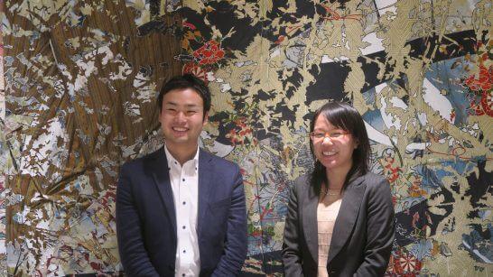 マネックス証券 営業本部の西尾さん、岩井さん