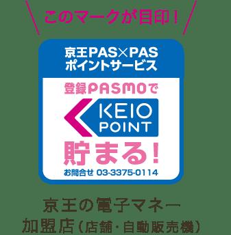 京王PAS×PASポイントサービスのマーク