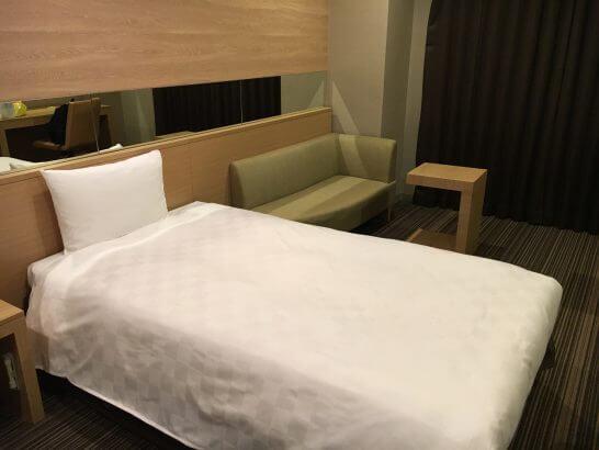 グランドプリンスホテル新高輪のベッド