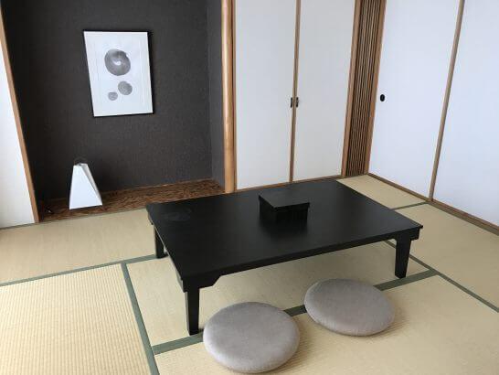 ヒルトン小田原の和洋室の和室