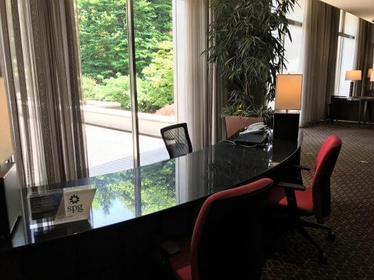 シェラトン都ホテル東京のSPGカウンター