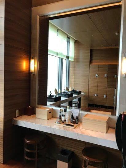 ザ・スパ・アット・マンダリン・オリエンタル・東京の洗面台