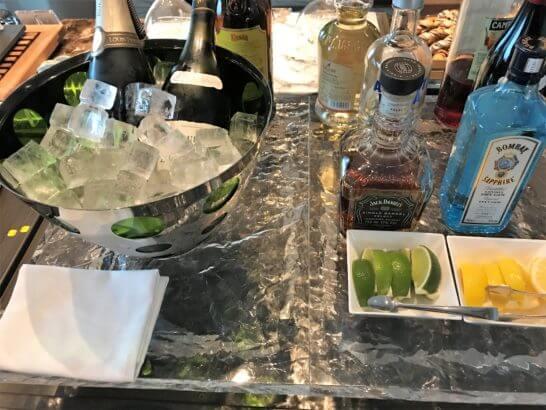 ザ・プリンスギャラリー 東京紀尾井町のクラブラウンジの酒類
