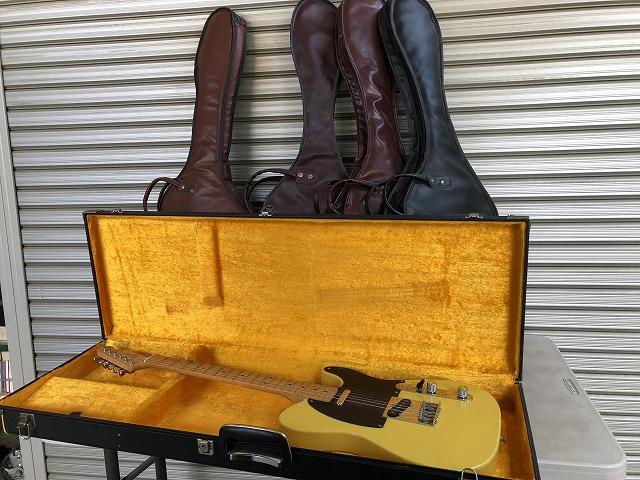 新座市で古本買取のついでにエレキギターも