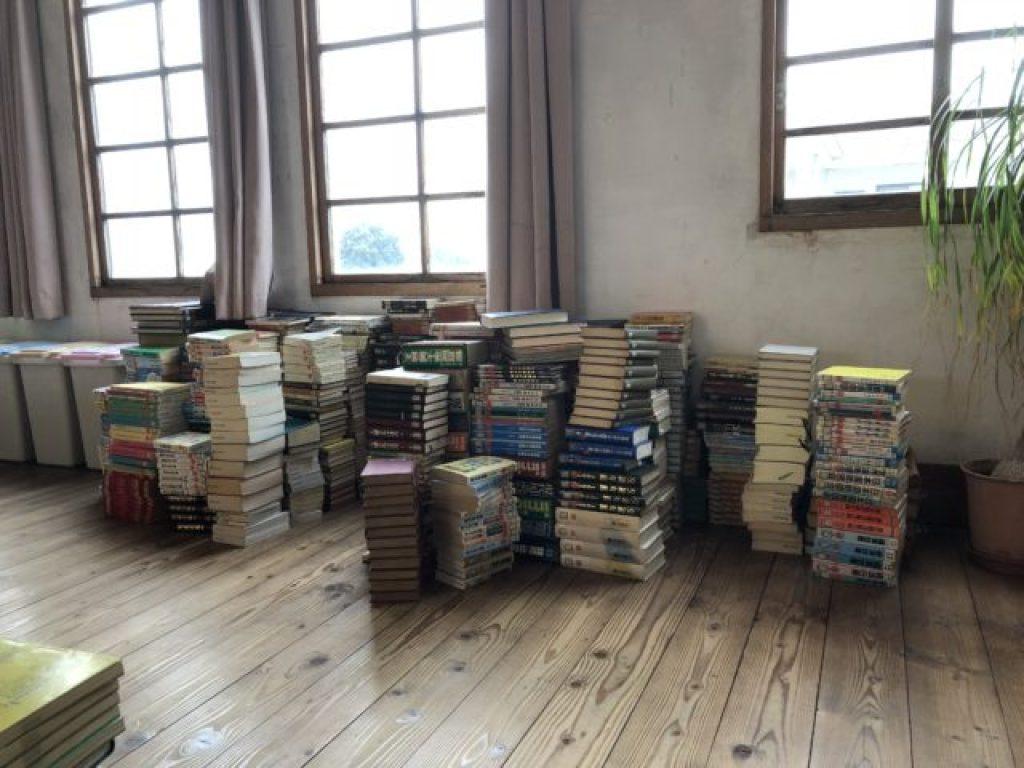 入間市で古本除籍買取廃棄図書館