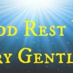 My Ultimate Christmas Playlist: God Rest Ye Merry Gentlemen