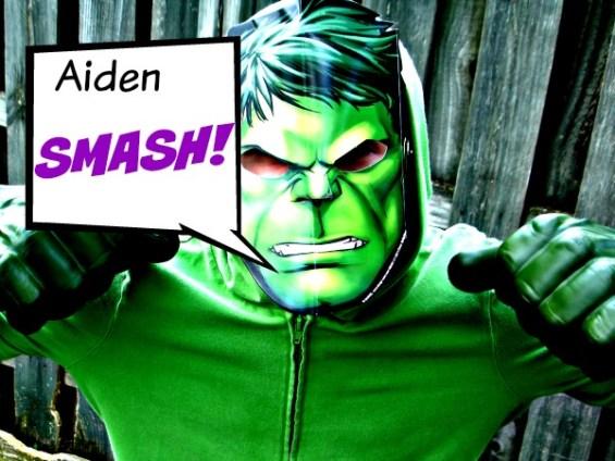 Aiden SMASH #AvengersUnite