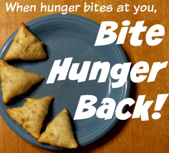 Bite Hunger Back #BiteHungerBack #ad