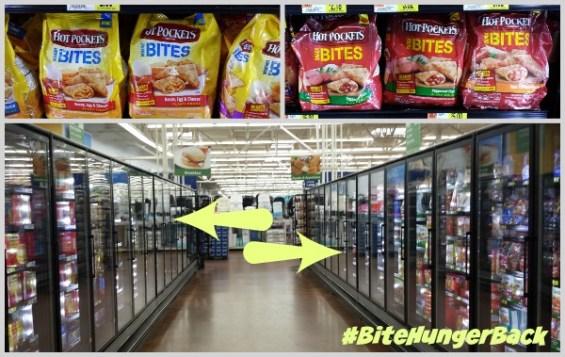 HOT POCKETS® Snack Bites and Breakfast Bites at Walmart #BiteHungerBack #ad