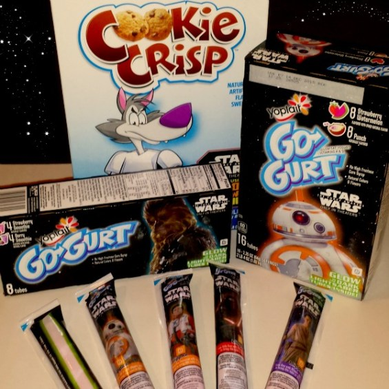 Cookie Crisp and GoGurt #FoodAwakens