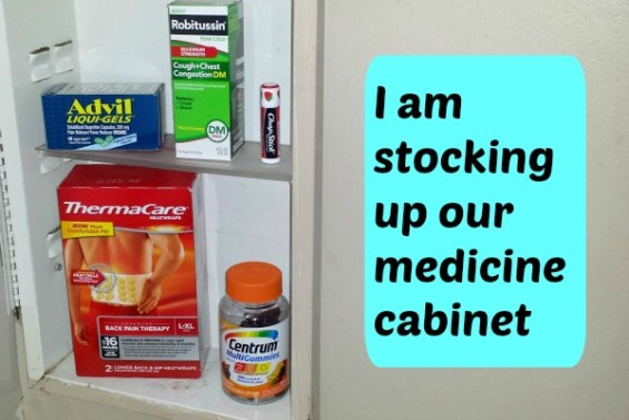 Stocking up our medicine cabinet #HealthySavings.jpg